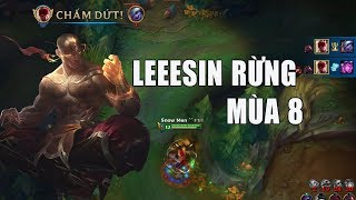 Leesin Rừng Mùa 8 - Giết Người Như Sốc Điện - LMHT