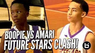 Repeat youtube video Future is Now! Amari Bailey vs Boopie Miller: Top 7th-8th Graders in Chicago