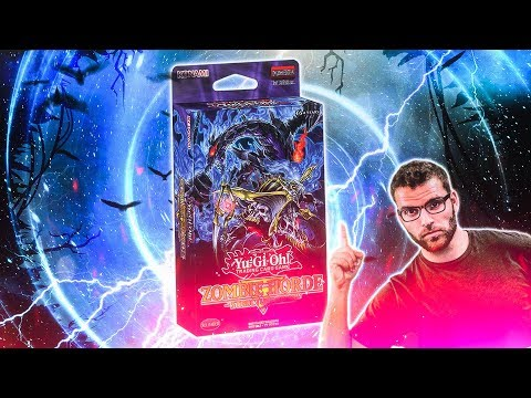 *NEW* YuGiOh ZOMBIE HORDE Structure Deck Opening & Review!
