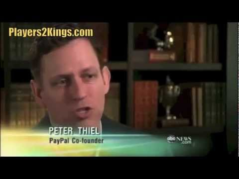 Peter Thiel - Paypal co-founder, Facebook Investor - YouTube