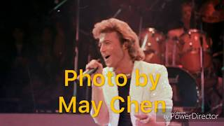 Andy Gibb  Taipei Concert in 1986 台北演唱會Photo by May Chen