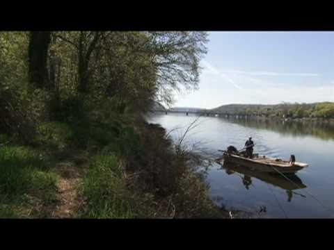 Shad Fishing At The Lewis Fishery In Lambertville, NJ