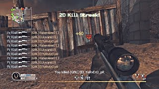INSANE COD 4/MWR SNIPER MONTAGE! BEST OF PZ FEAR