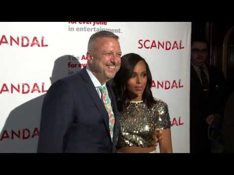 The Actors Fund's SCANDAL Finale Live Stage Reading Red Carpet