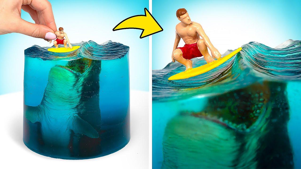 WOW! Diorama Kreatif Serangan Megalodon