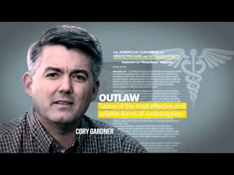 """Big Difference"" TV ad shows Cory Gardner trying to rewrite history on birth control"