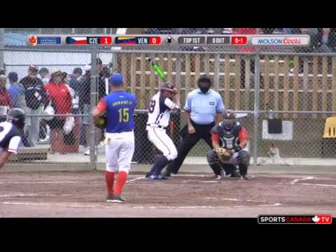 WBSC Czech Republic vs Venezuela (07.09.17)