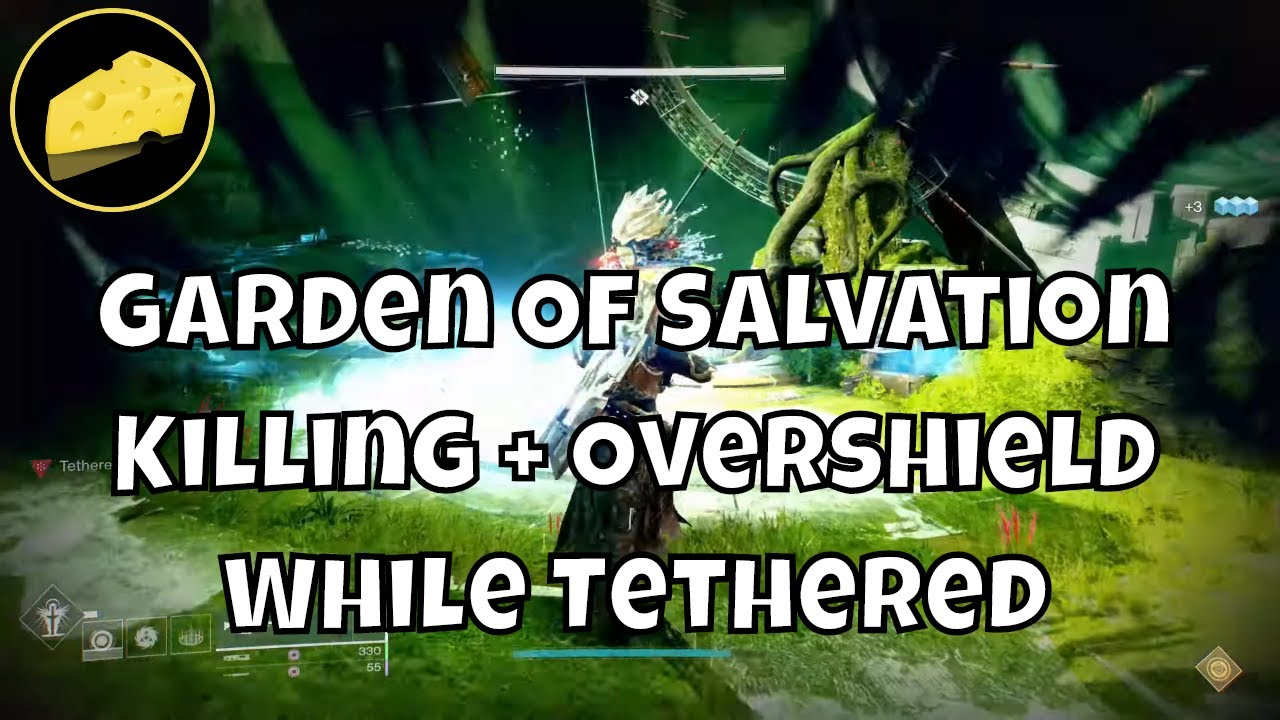 Garden of Salvation Killing Enemies And Overshield While Tethered By Relay