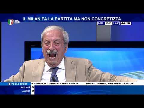 Milan Lazio 2-0 con Tiziano Crudeli