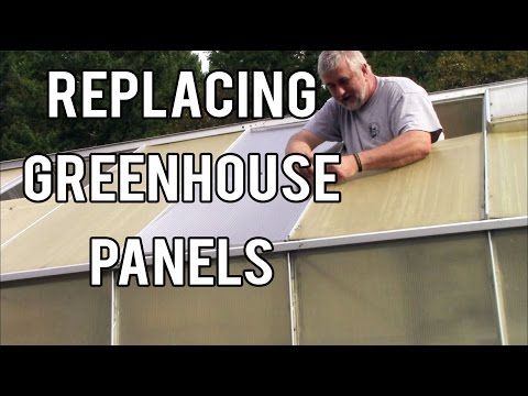 Replacing Panels on The Harbor Freight Greenhouse