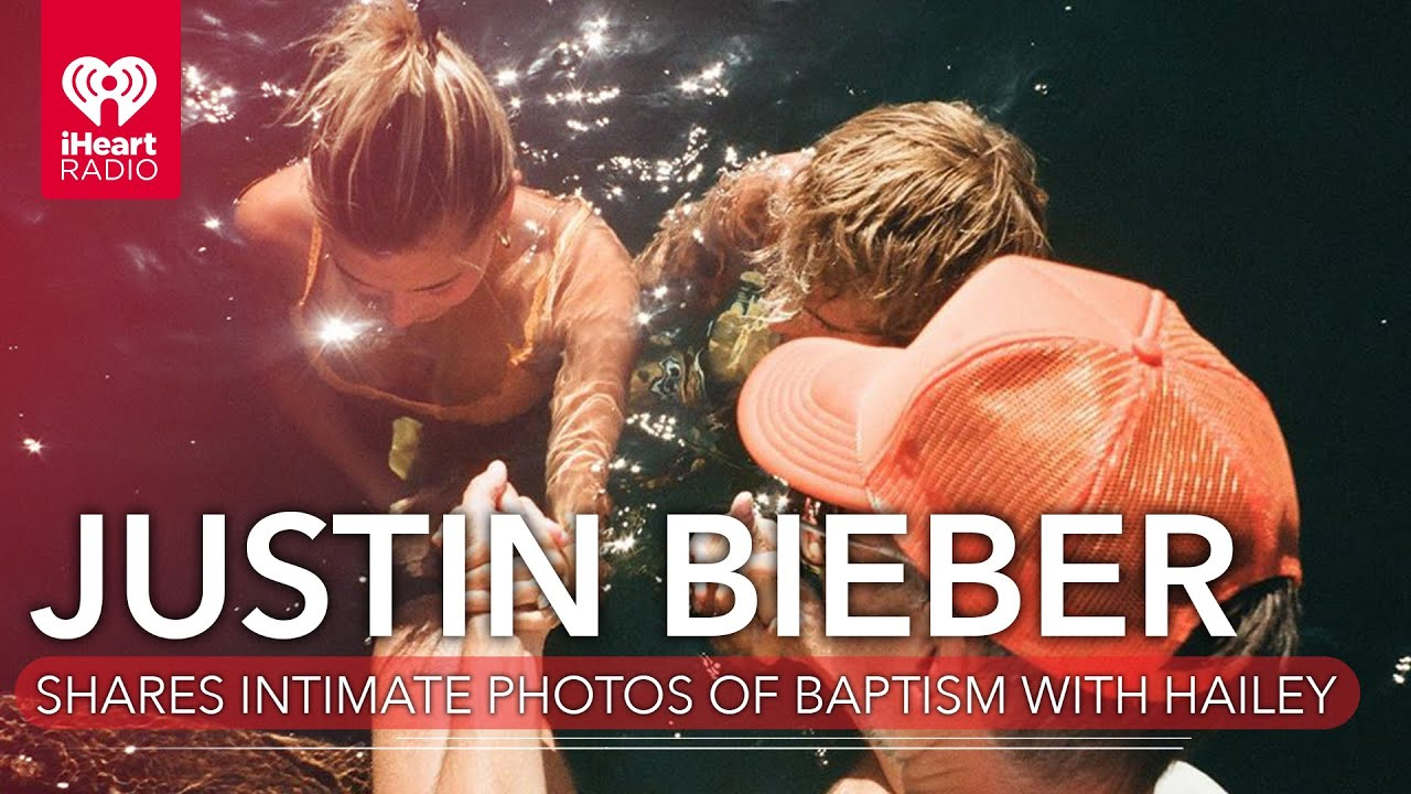 Justin Bieber Shares Intimate Photos Of Joint Baptism With Hailey | Fast Facts