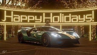 Christmas Songs in Gran Turismo Sport Menu (2019 Edition)