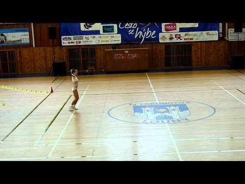 Aerobic - sportovni aerobic solo 8-10 let Louny 2012