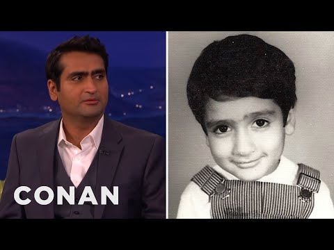 Kumail Nanjiani's Awkward Childhood #TBT Pic  - CONAN on TBS