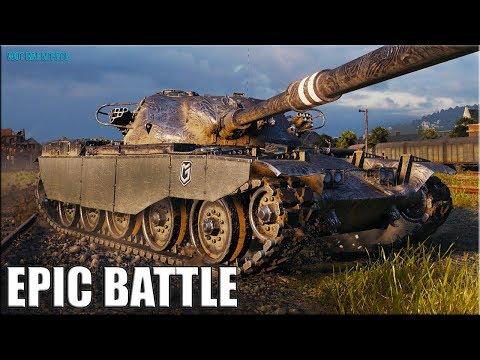 Крутое ТАЩИЛОВО ТОП статиста ✅ World of Tanks лучший бой T95/FV4201 Chieftain