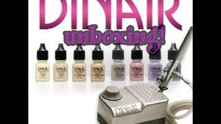 Dinair Airbrush Makeup Unboxing! Thumbnail