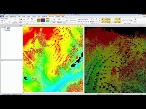 Point Cloud (LIDAR) Processing Demonstration