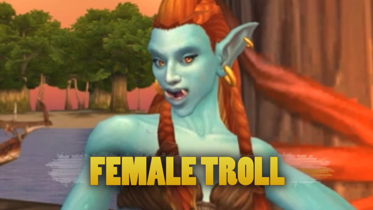 World of Warcraft  Warlords of Draenor - Updated female troll animations -  YouTube a772459219