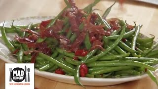 Green Beans With Crispy Prosciutto And Roasted Red Peppers - Mad Hungry With Lucinda Scala Quinn