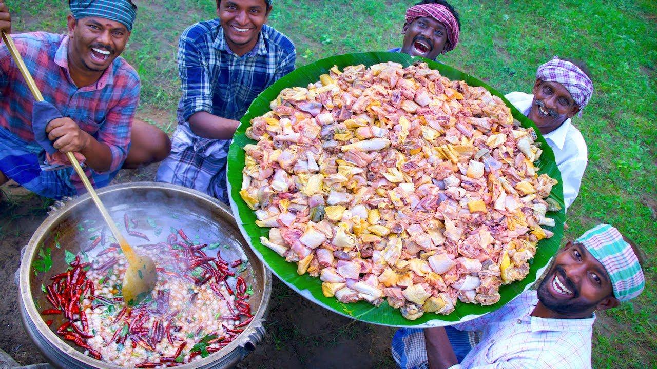Download CHICKEN FRY | Pallipalayam Chicken Recipe Cooking In Village  Tamil Nadu Special Country Chicken Fry
