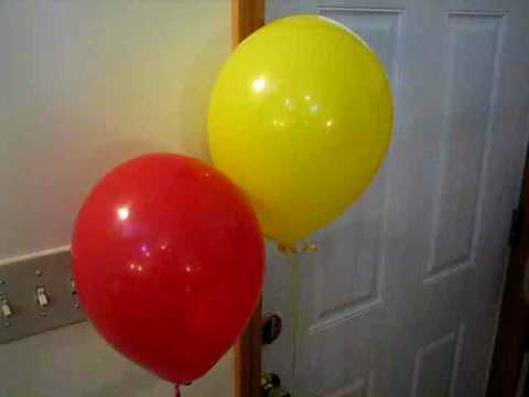 Helium Balloons at Minus 40 Degrees (F/C)