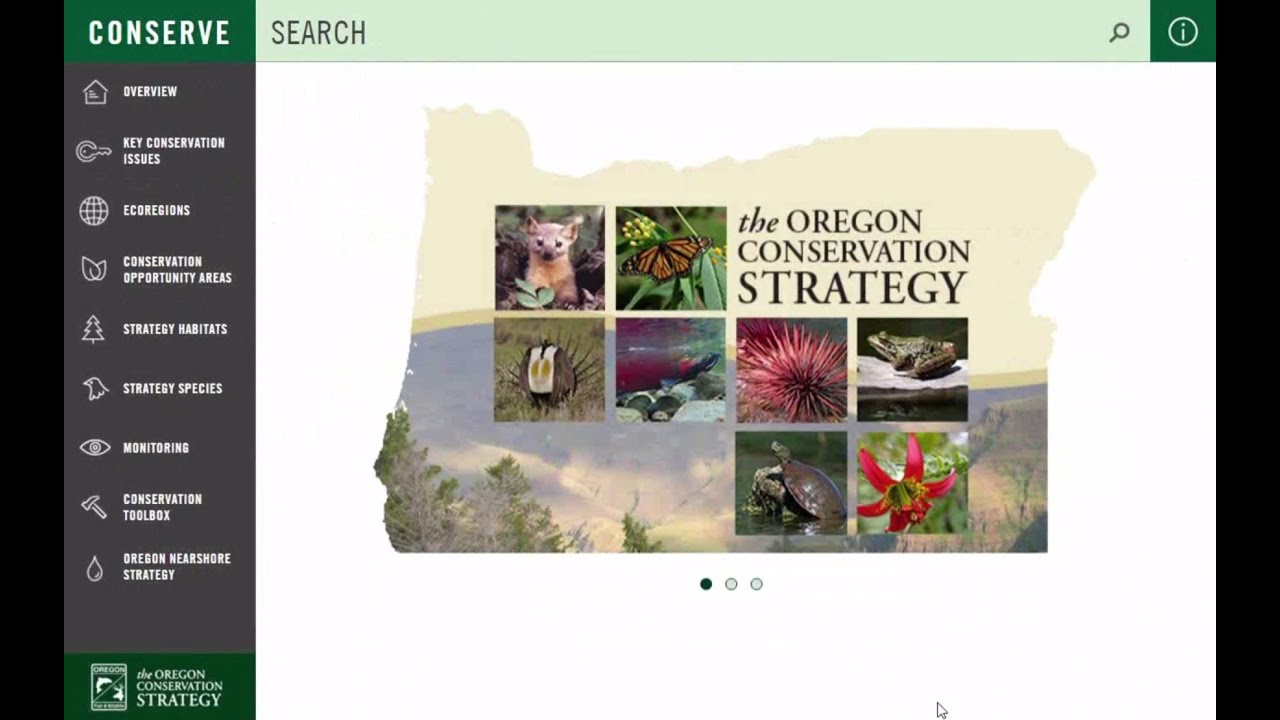 Overview – Oregon Conservation Strategy