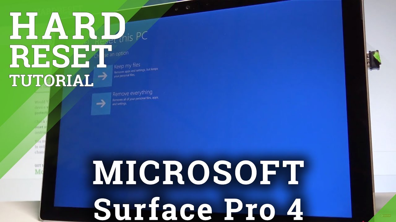 force surface pro into recovery mode