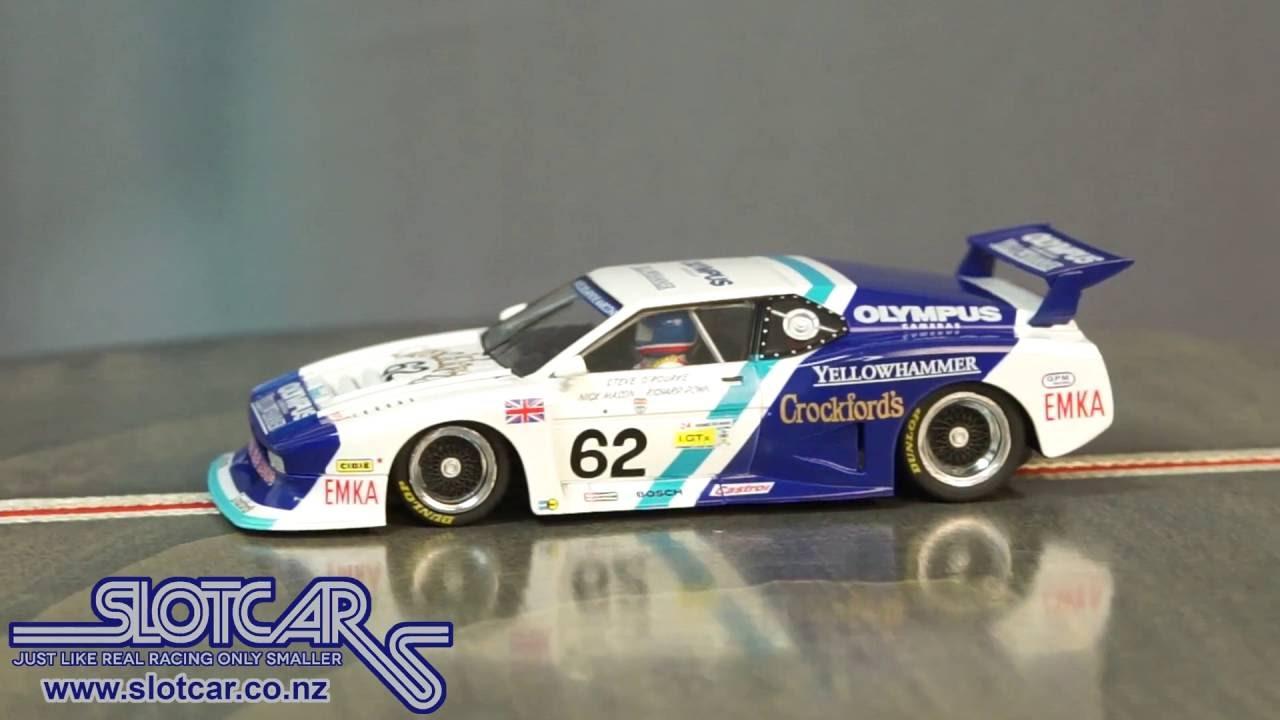 Sideways Slot Car Bmw M1 Group 5 Sauber Olympus 62 Slotcar Sw27
