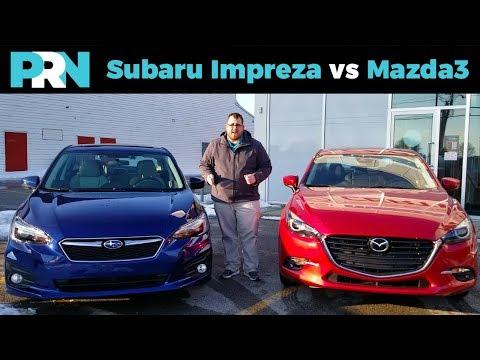 Subaru Impreza vs Mazda3 GT   TestDrive Showdown