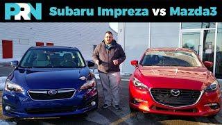 2018 Subaru Impreza Sport vs 2018 Mazda3 GT