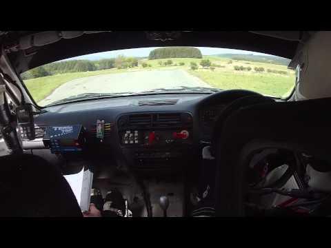 Mini Epynt Rally Car 29 Honda Civic ek9 type R Richard Bliss Jamie Vaughan