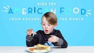 Kids Try American Food from Around the World | Kids Try | HiHo Kids