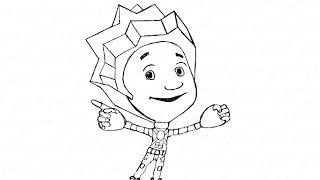 Как карандашом нарисовать нолика из фиксиков: инструкция от EvriKak(Предлагаем пошаговую инструкцию как рисовать карандашом фиксика нолика из мультфильма. Инструкция с фото..., 2015-11-21T14:11:13.000Z)