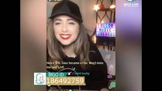 BIGO LIVE USA - Caty's Singing and Guitar Playing