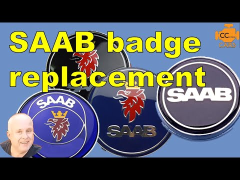 Saab 9-3 Badge Replacement | Saab Wheel Centre caps