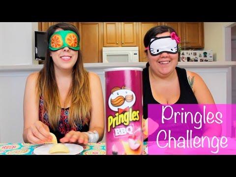Pringles Challenge | Reto de las Pringles con mi Hermana