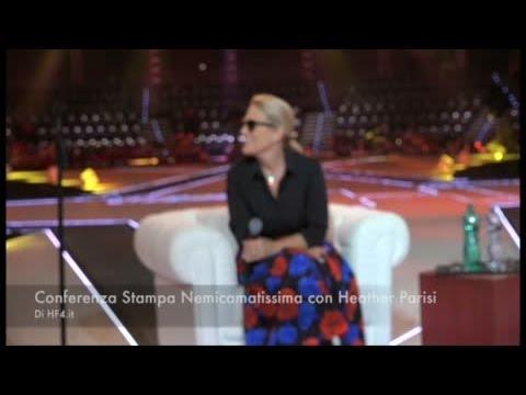 Nemicamatissima: Heather Parisi in conferenza stampa