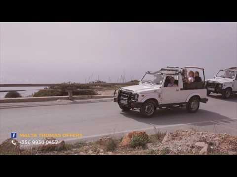Jeep Safari Tours in Malta and Gozo