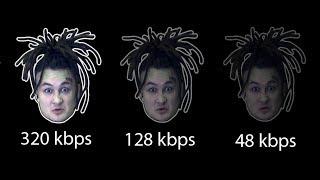 Зачем 320 kbps если есть 192 kbps | Проверка качества звука Stereo и Mono