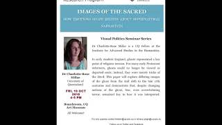 Visual Politics Seminar Series Semester II, 2018 - Charlotte-Rose Millar