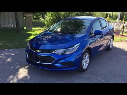 2017 Chevrolet Cruze LT Kinetic Blue Metallic Roy Nichols Motors Courtice ON