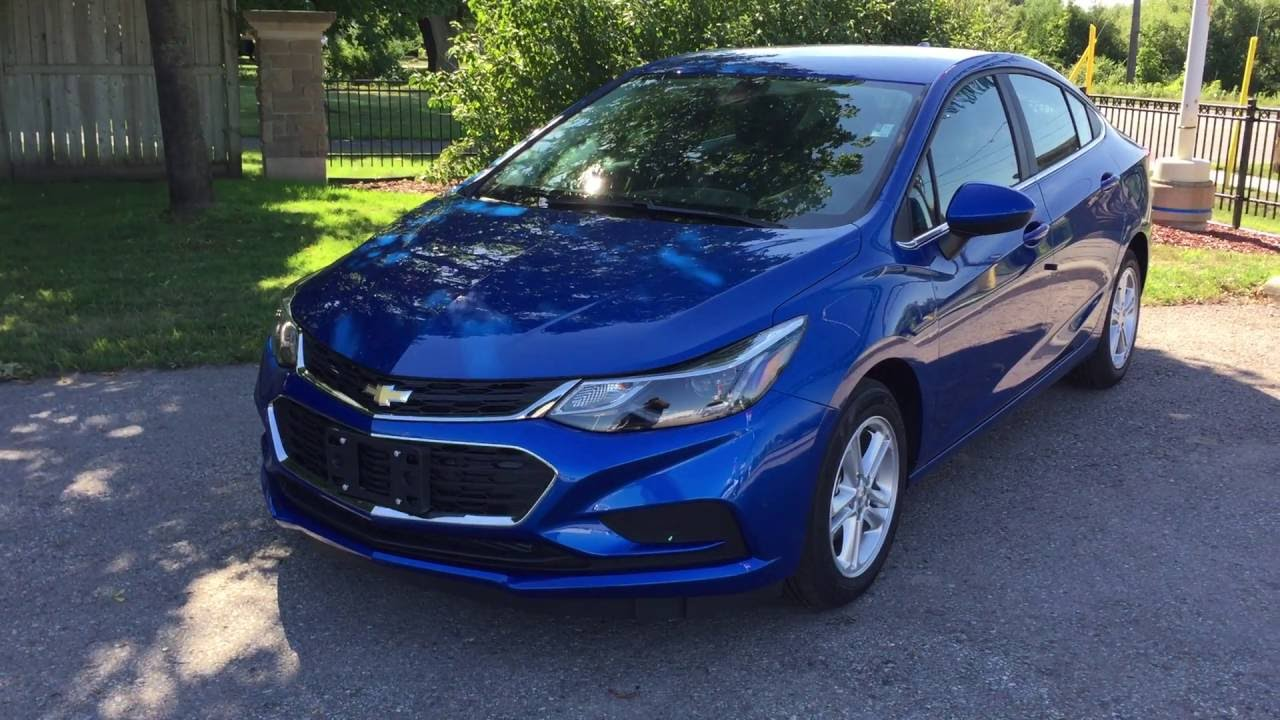 2017 Chevrolet Cruze Lt Kinetic Blue Metallic Roy Nichols Motors Courtice On