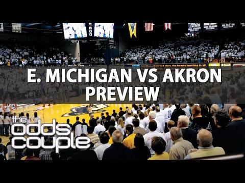 NCAAB Predictions | Eastern Michigan vs Akron
