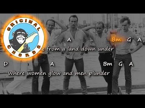 men-at-work---down-under---chords-&-lyrics