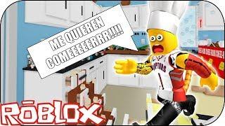Un scape dificilísimo! - Roblox - Scape The Amazing Kitchen Obby