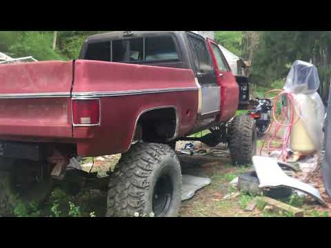 Repeat Update on the Square Body Crew Cab Mud Truck Build  May 12