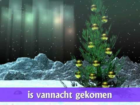 """♪ Kerstliedje: """"Midden in de winternacht"""" met tekst!"""
