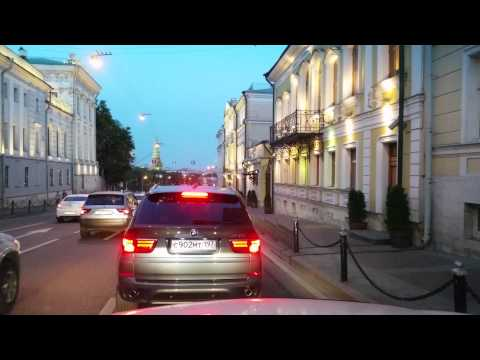 Moscow Summer night cruising + supermoon