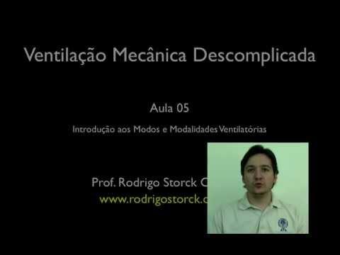 Introdução aos Modos e Modalidades Ventilatórias - Prof. Rodrigo Storck