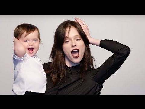 Hello! Canada's Most Beautiful: Behind the s on Coco Rocha's shoot